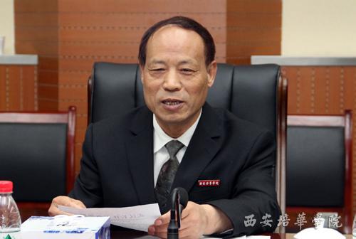 武汉长江工商学院代表团来我校参观交流