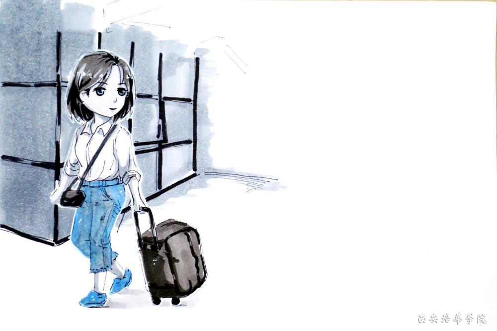 【组图】手绘漫画表白我的新家——大培华